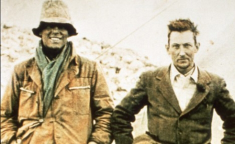 Andrew Irvine, left, and George Mallory