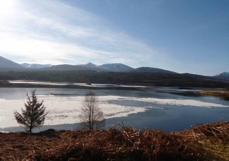 Loch Garry, early morning