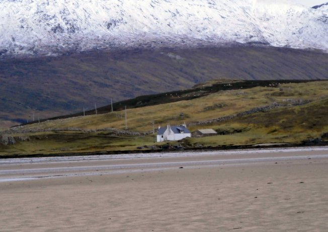 Low tide in the Kyle of Durness