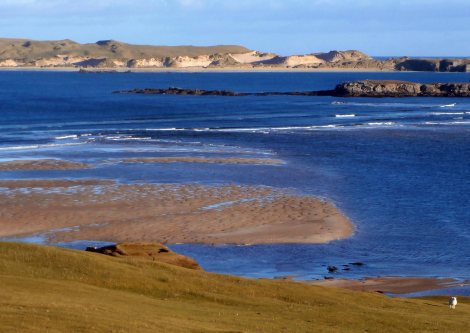 Looking Across the Kyle to Durness.  This was in January, honest.