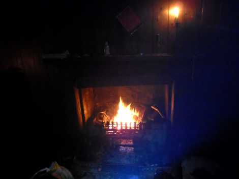 Success, a roaring fire!