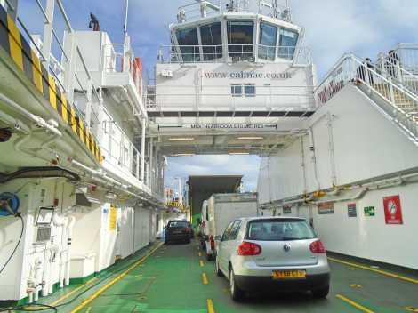in ferry